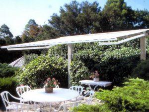سایبان برقی باغ
